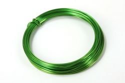 Aluminium wire, roll, 100 g - green apple