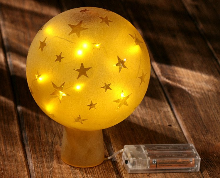 Ball, shining stars Gold