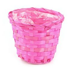 Bamboo cover, 14/17cm pink