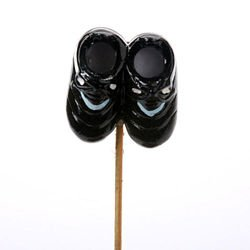 Ceramic shoes 6 cm on stick 26 cm