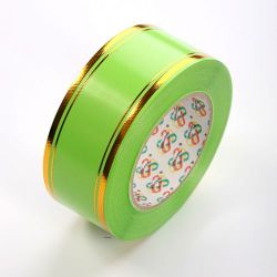 Decorative tape 50 mm, colourful with a stripe, length 45 m - BS11
