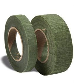 Green masking tape, narrow, 13mm x 27 m