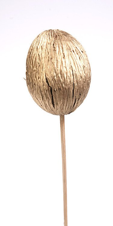 Mintola ball on stick 15/50cm gold