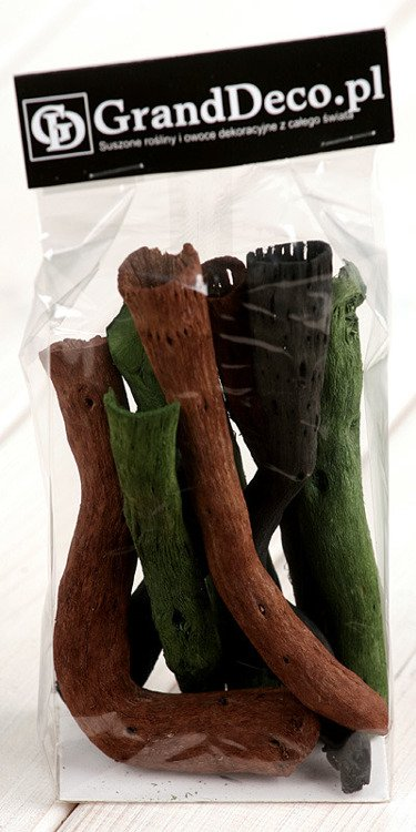 Olive Green-Black-Brown Roots 9pcs./pack