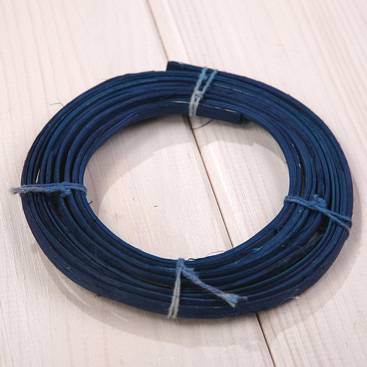 Rattan coil mini 15 g navy blue