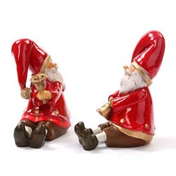 Santa Claus with bell 16 cm