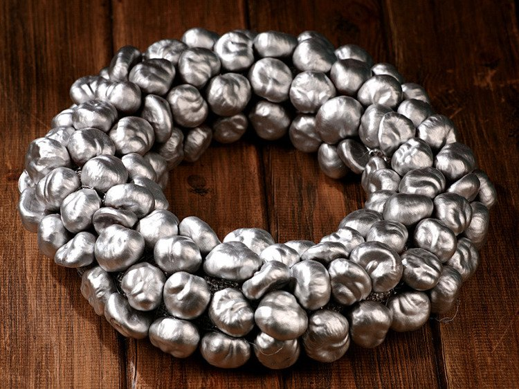 Silver Chestnut Miracle- Wreath ca.30cm