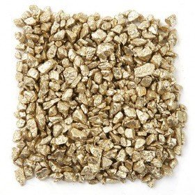 Bunter Splitt 200 g - golden