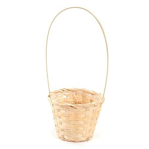 bambuskorb 12 cm nat rlich k rbe bambus fr hlings. Black Bedroom Furniture Sets. Home Design Ideas