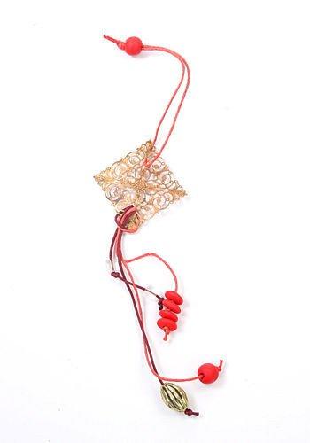 dekorative kleiderb gel raute rot gold 22 cm 2 st ck set h nger valentinstag artikel und. Black Bedroom Furniture Sets. Home Design Ideas