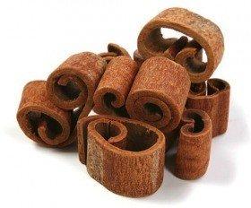 Cynamon aromatyczny dekoracyjny  - gruby 0,25 kg, dł.4- 9  cm 8-14- sztuk