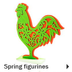 Spring figurines