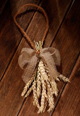 20-25 cm natural grain pendant
