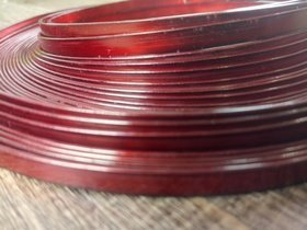 Aluminum Wire flat 100 grams - red
