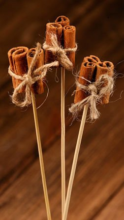 Aromatic cinnamon sticks 20 cm - bunch of 3 pcs.