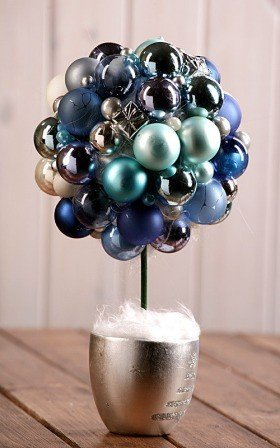 Arrangement 1001 Tree- ball of christmas balls H:ca.30cm