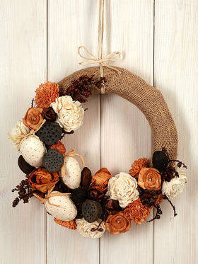 Arrangement-  natural wreath