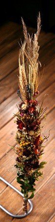 Arrangement of dried plants- natural I