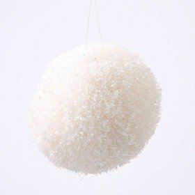 Ball with glitter, 8 cm