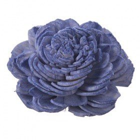 Belly flowers, 4 cm, 10 pcs/pkg - light purple