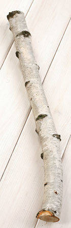 Birch log diameter of 3 - 5 cm, length 40 cm