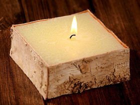 Birchen Candle 100/ 40 /100 mm