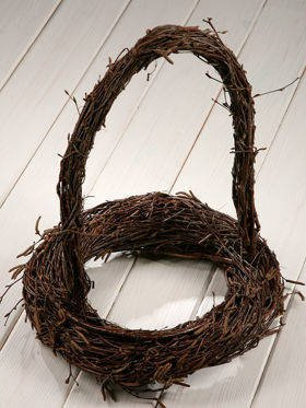 Birchen wreath ca.25/30 cm