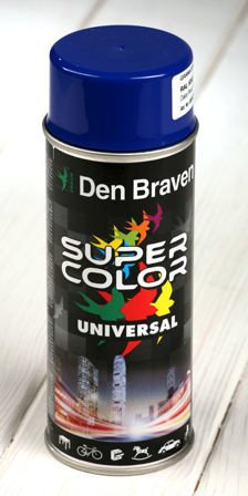 Blue spray paint 400 ml RAL 5002