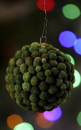 Bora ball, 6-7 cm, green
