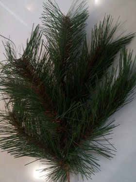 Bunch of artificial pine twigs GREEN 40 cm