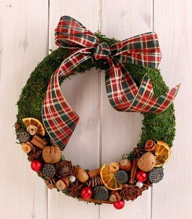 Christmas Wreath D26cm