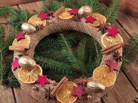 Christmas Wreath I D25cm