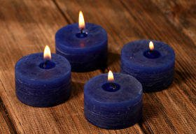Christmas candles 22/45 mm - set of 4