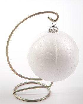 Christmas ornament, Christmas ornament, Metal Finesse 12 cm silver