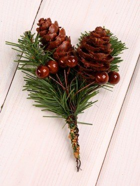 Christmas stick woody 10-12 cm