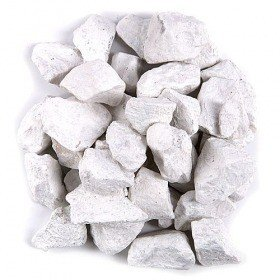 Colourful pebbles 200 g - white