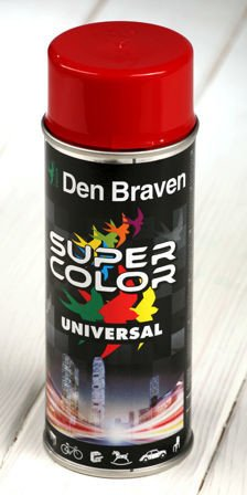 Dark red spray paint 400 ml RAL 3000