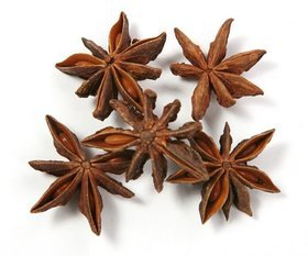 Decorative anise, 50g/pkg, ca. 30 stars