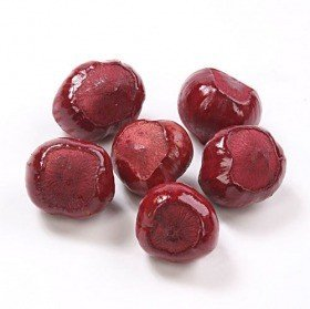 Decorative hazelnut 18 pcs - claret