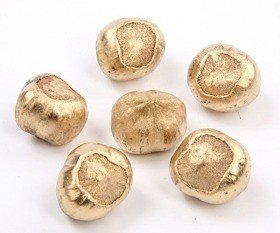 Decorative hazelnut 18 pcs - gold