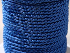 Decorative twine 5 m blue