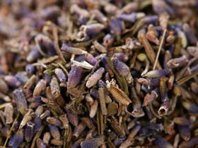 Dried lavender in a 10g bag