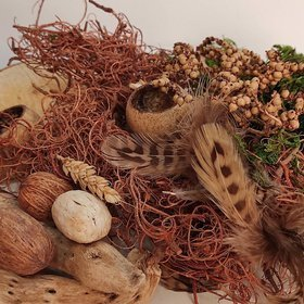 Easter decoration - DIY nest building kit
