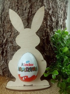 Easter hare standing 15 cm