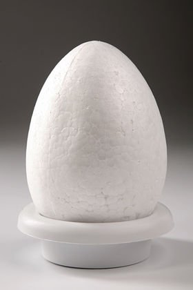 Egg on the basis of 12/18 cm | Styrofoam egg