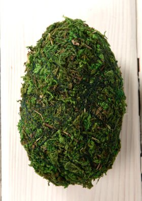 Eggs from moss 6 cm 3 pcs / pack