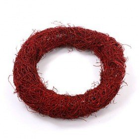 Fascine wreath claret 20 cm