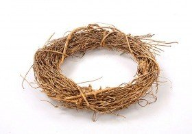 Fascine wreath gold 17 cm