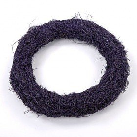 Fascine wreath purple 26 cm