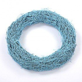 Fascine wreath sky-blue 20 cm